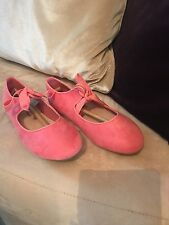 NEXT GIRLS PINK SHOES SIZE 13