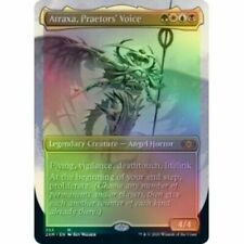 MTG Atraxa, Praetor's Voice - Double Masters SHOWCASE BORDERLESS (NM) *FOIL*