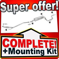 Mercedes Vito (638) 110 2.3TD Without CAT! 1996-2000 Silencer Exhaust System 766