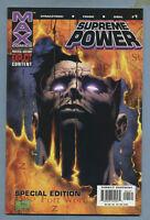 Supreme Power 1 2003 [Squadron Supreme] Special Edition m