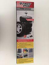 Support 4 roues Rangement stockage des pneus (Porte-pneus pour auto voiture)