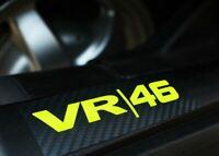 Valentino Rossi VR / 46 Motorcycle Bike Sticker Decals 3M Reflective Vinyl