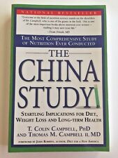 The China Study Book T Colin Campbell PhD Nutrition Plant Based Diet Paperback