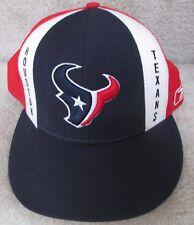 NFL Houston Texans Hat Cap Size 7 5/8 Cap Reebok On Field
