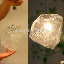 Cute Modern Ice Glass Ceiling lamp,Coffe Shop Bar Kids Room Decor Pendant Light