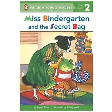 Miss Bindergarten and the Secret Bag (Penguin Young Readers, L2)-ExLibrary