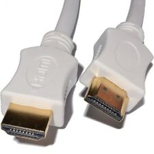 1.5m HDMI Cable High Speed With Ethernet v1.4 FULL HD 4K 3D ARC GOLD WHITE