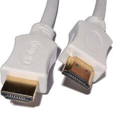 1.5 m Cable Hdmi De Alta Velocidad Con Ethernet V1.4 Full Hd 4k 3d Arc Oro Blanco
