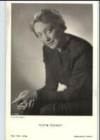 KÄTHE DORSCH Schauspielerin um 1950/60 Porträt-AK Film Bühne Theater Postkarte