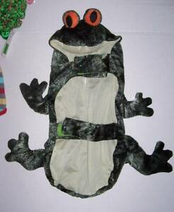 Frog Costume for Pets Size XS Extra Small Dog Halloween NWOT
