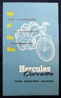 HERCULES CORVETTE - MOPED SALES BROCHURE - 1961/62        #5668