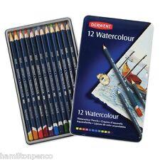 Derwent acquerello Tin di 12 solubile in acqua, versatile MATITE COLORATE