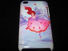 Ballerina Cover Case for iPod Touch 4th Gen New Ballet Dancer Cartoon Art Case
