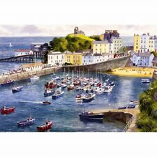 GIBSONS TENBY 500 PIECE JIGSAW PUZZLE - TERRY HARRISON HARBOUR G3038