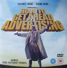 DVD The Sunday Times Promo HOW TO GET AHEAD IN ADVERTISING Richard E. Grant