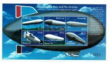 Bhutan 2000 1296 - Zeppelin Airships - Sheetlet of 6v - MNH
