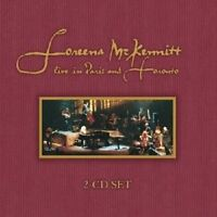 "LOREENA MCKENNITT 'LIVE IN PARIS AND TORONTO"" 2 CD 17 TRACKS NEU"