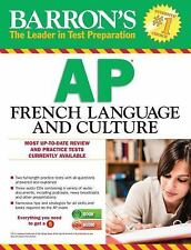 Barron's AP French Language and Culture with MP3 CD (Barron's AP French (W/CD)),