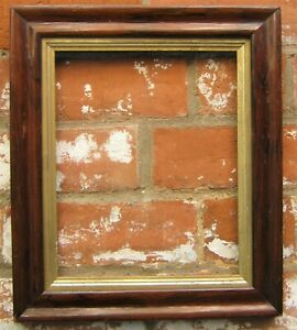 Antique Vintage Rosewood  Photo / Picture  Frame with Gilt Liner.