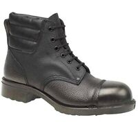 MENS AMBLERS LEATHER SAFETY WORK STEEL TOE CAP BOOTS SHOES SAFETY FOUNDRY PPE SZ