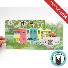 Japan Studio Ghibli Museum Mitaka Limited Pop up Card Postcard Exterior Diorama