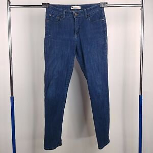 Levis Mid Rise Skinny Denim Blue Jeans Womens Size 10 M
