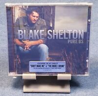 Pure BS: Blake Shelton(CD,May-2008,Warner Brothers Nashville) FACTORY SEALED!!!!