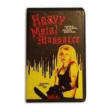 Mondo Heavy Metal Massacre VHS Movie Limited Edition Horror Bleeding Skull
