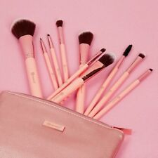 BH Cosmetics Pretty In Pink 10 Piece Brush Set + Cosmetic Bag