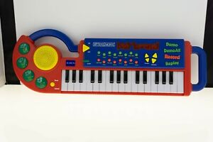 Alaron Deluxe Programmable MY SONG MAKER Electronic Keyboard RY-9063 TESTED RED