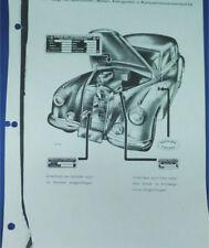 Mercedes Benz 300 Parts Catalog in German (Photo Copies in Binder)