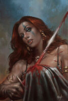 Red Sonja: Birth of the She-Devil #4 DYNAMITE  VIRGIN Parrillo Cosplay
