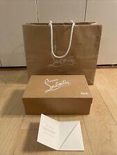 Christian Louboutin Empty Gift Storage Shoe Box 11x7x4 w/ Tissue Paper Bag
