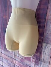Nude Yummie Tummie Seamless Shaping Undergarment Shorts - Size Small