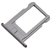SPACE GREY New Nano Sim Card Tray Slot Holder Replacement for BLACK iPhone 5S