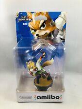 Amiibo Fox Super Smash Bros Wii U 3DS