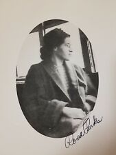 "ROSA PARKS, *SIGNED* 8""X10"" PHOTO, Not a Reprint or Copy. Very Scare! Mint !"