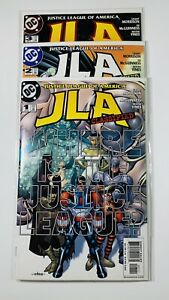 """JLA Classified #1-3 Set """"Where is the Justice League?"""" Grant Morrison VF/NM+"""