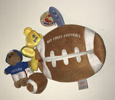 NWT~BABY GUND~MOST VALUABLE BABY~FOOTBALL~TROPHY~BEAR~TOY