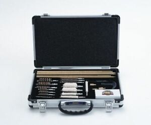 UGC76 Deluxe Universal 35 Piece Cleaning Kit, Aluminum or Wooden Case