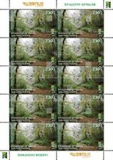 Armenia MNH** 2018 RCC Reserves Shikahogh Syunik Mount Khushtup Nature - SHEET
