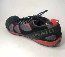 MERRELL TRUE GLOVE Barefoot Running Athletic Shoes - Black Molton Size 11