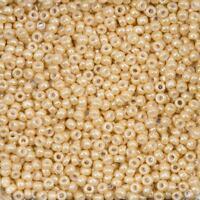 Miyuki Size 8/0 Round Seed Beads 8-593 Dark Beige Ceylon 22g (B69/18)