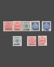 VINTAGE:TURKEY-CILICIA 1919 ALL,OG  SCOTT# JI-J6 $ 243 LOT # VSACILI1919B-B90