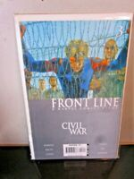 Civil War Front Line #3 Marvel Comic 2006 BAGGED BOARDED