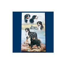 Inchiostro Roller Penna Cane Razza Ruth maystead linea sottile-Cane Bernese Mountain