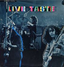 "TASTE ""LIVE"" ORIG UK 1971 RORY GALLAGHER VG++/VG++"