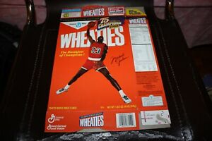1999 Michael Jordan General Mills Wheaties Box (1988 Commemorative Edition) Flat
