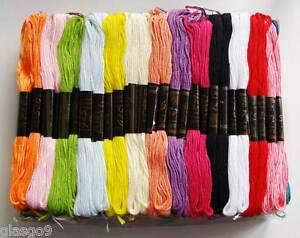 100 échevettes fil mix couleurs création tressage bracelet brésilien / amitié