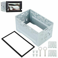 Universal Iron Installation Kit Securing Cage & Frame for 2 Din Car Stereo Radio